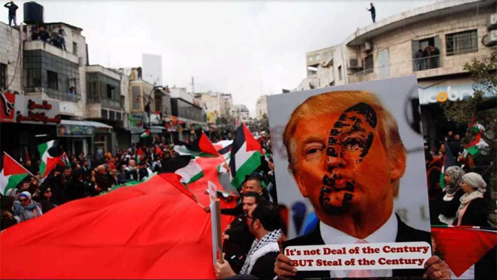 Cisjordanie occupée: manifestations contre le projet d'annexion israélien