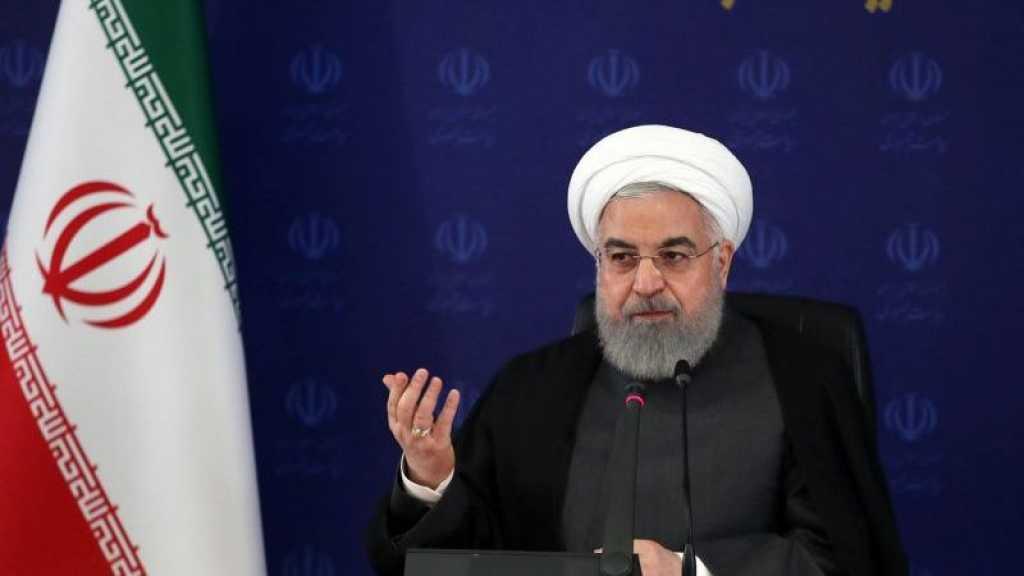 Rohani aux Iraniens: il va falloir vivre «longtemps» avec le virus