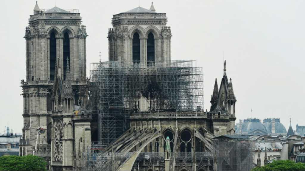 Notre-Dame de Paris: début des opérations de démontage de l'échafaudage