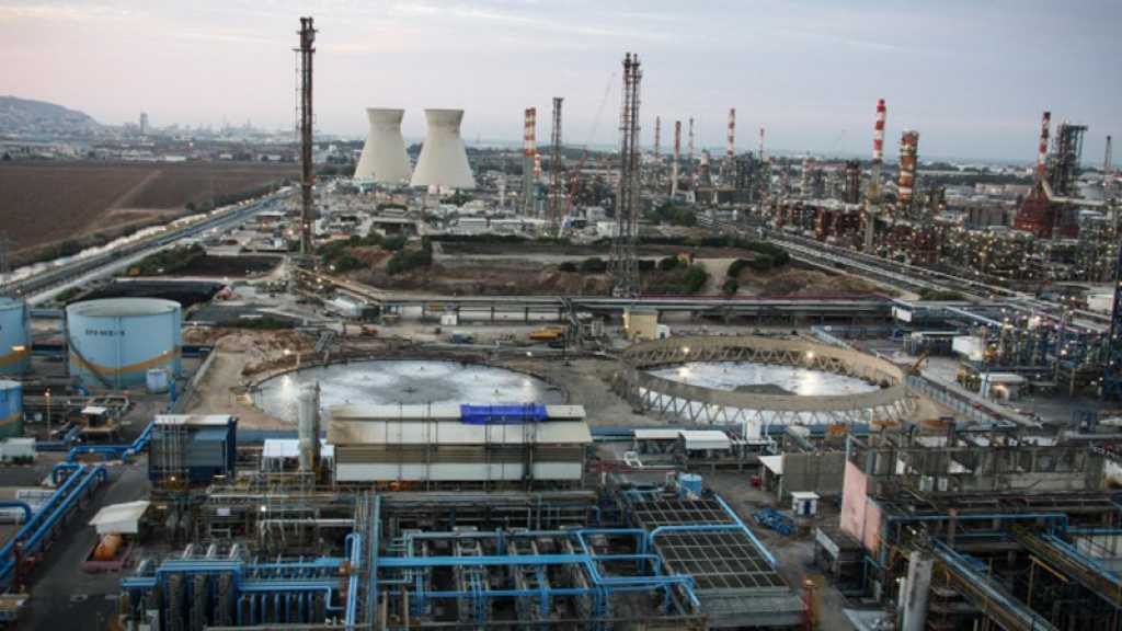 L'une des tours de refroidissement des raffineries de Haïfa s'est effondrée