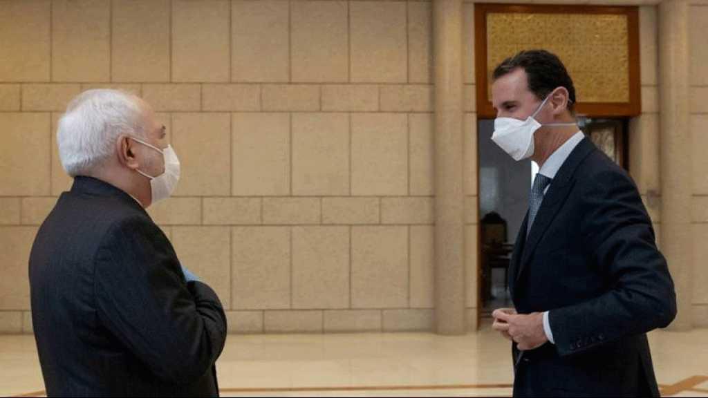 «Loi Cézar»:L'Iran renforcera la coopération économique avec la Syrie (Zarif)