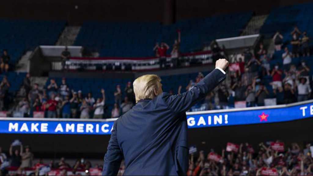 À Tulsa, Trump retrouve les estrades de campagne mais pas la foule espérée