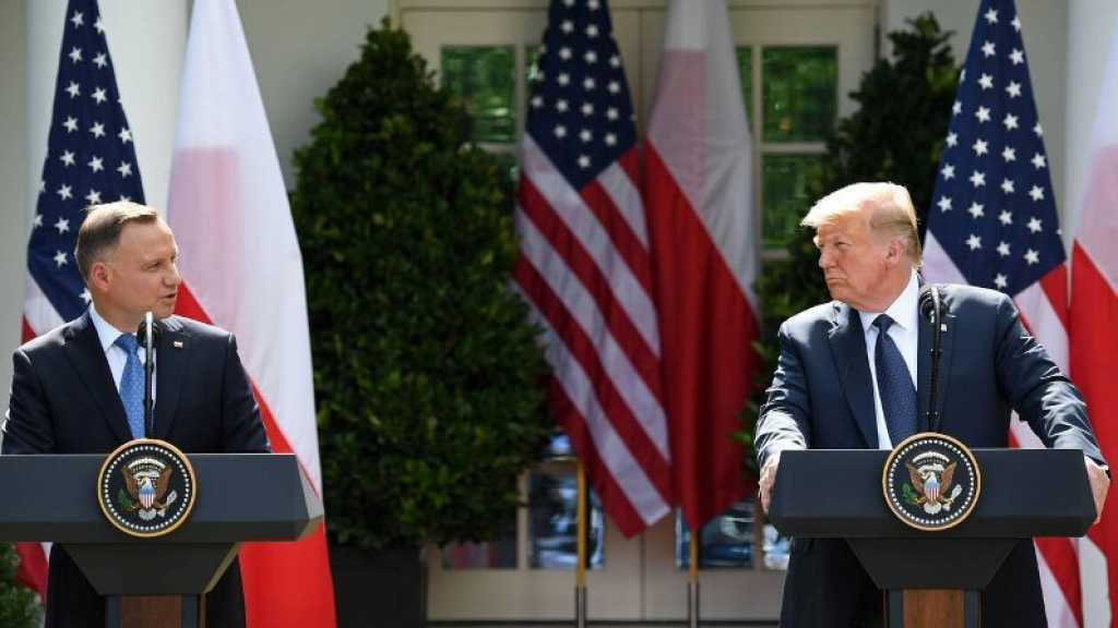 Trump annonce le transfert de troupes US d'Allemagne vers la Pologne