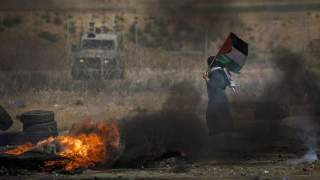 L'armée de l'occupation israélienne vise des positions de la résistance à Gaza