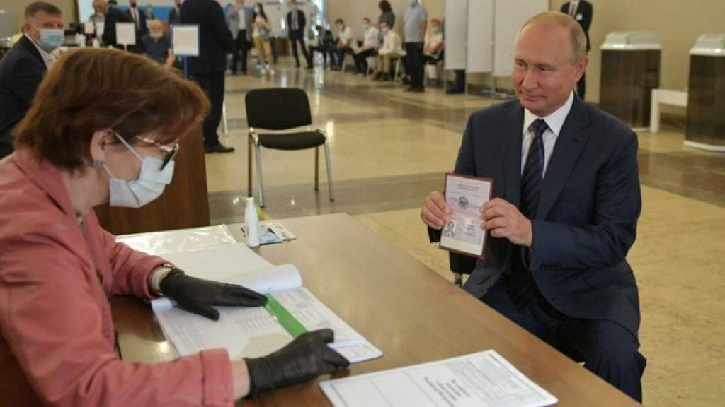 Russie: la réforme constitutionnelle de Poutine validée à 77,92%