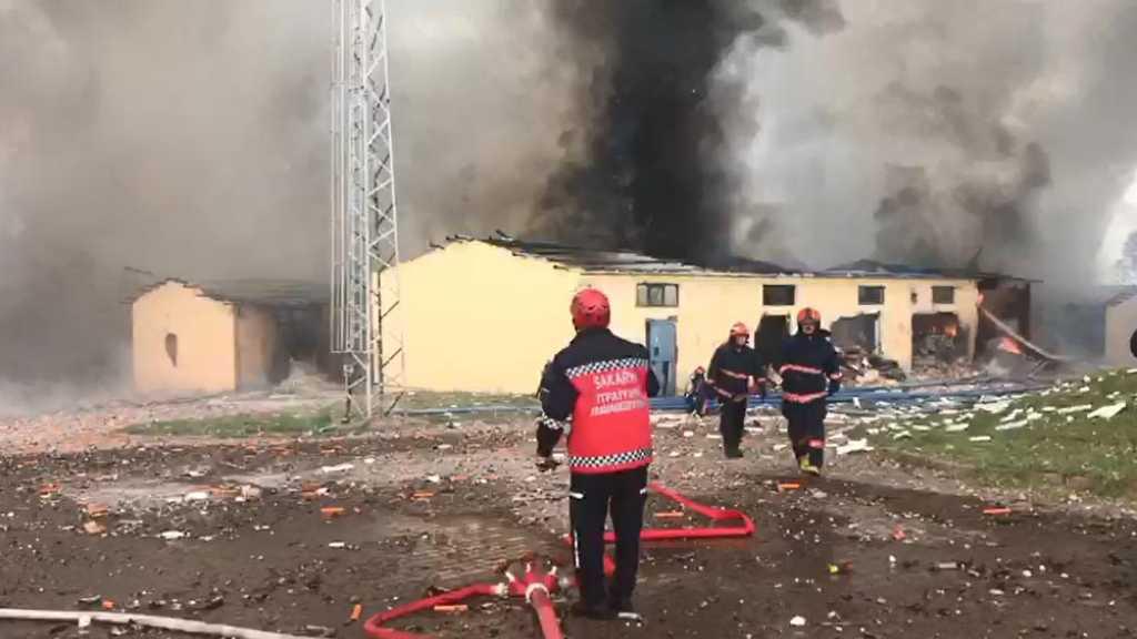 Turquie: explosion dans une usine de feux d'artifices, plus de 70 blessés