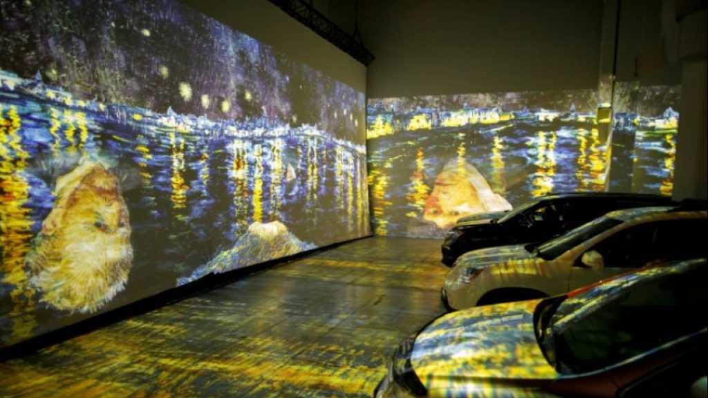 En voiture au musée: une exposition Van Gogh en drive-in aux temps du coronavirus