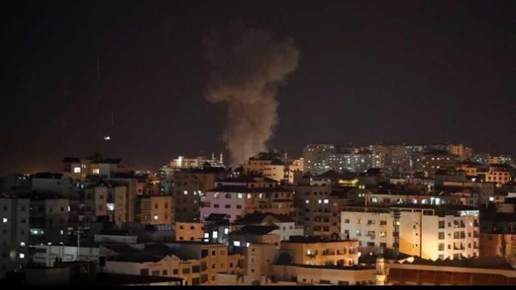L'armée de l'occupation israélienne vise des positions du Hamas à Gaza