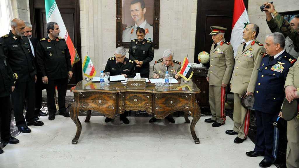Important accord militaire signé entre l'Iran et la Syrie, Téhéran veut renforcer la DCA syrienne