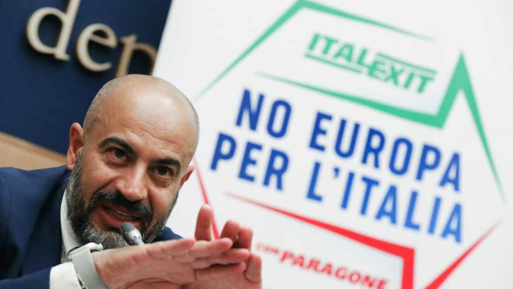 Italie: un sénateur lance le parti Italexit, sur le modèle du Brexit