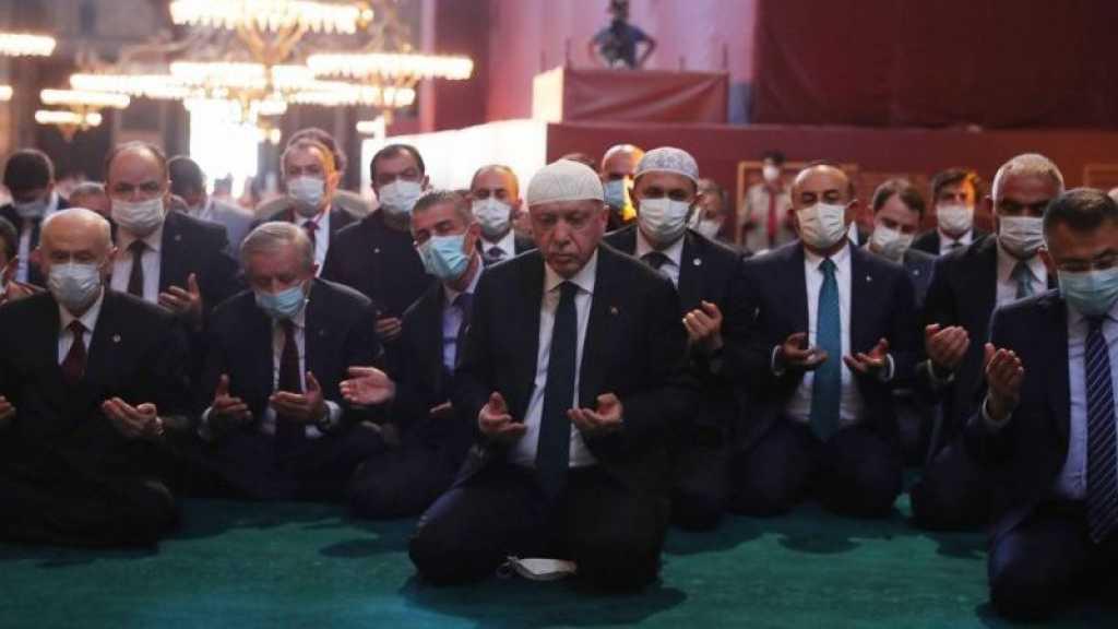 Sainte-Sophie: la Turquie dénonce «l'hostilité» de la Grèce