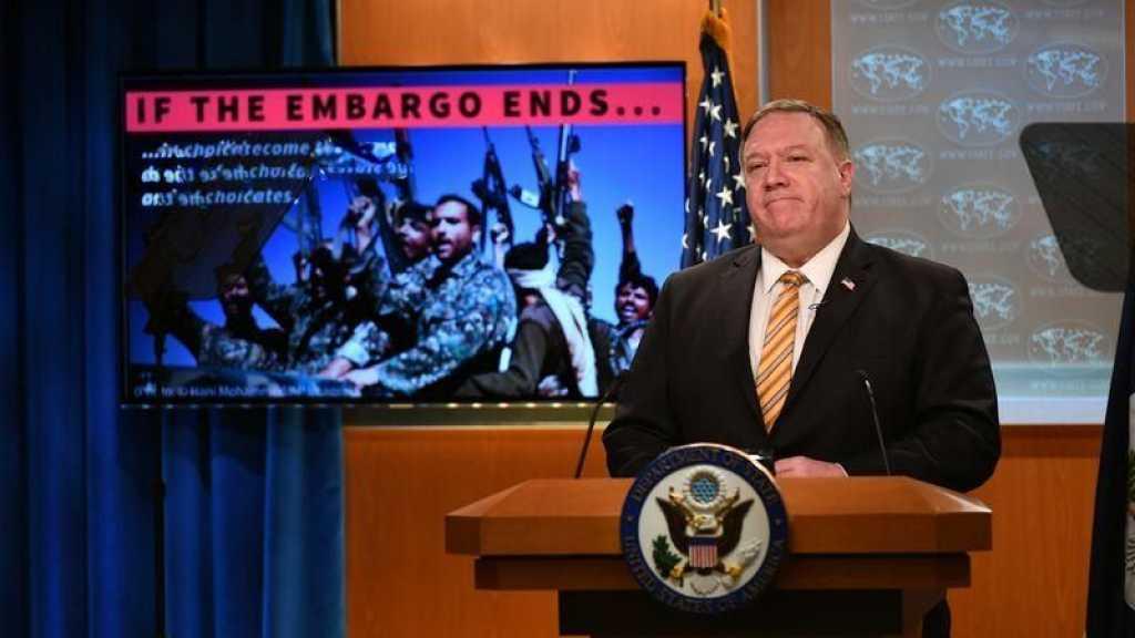 Iran: Washington rétablira les sanctions à l'ONU si l'embargo sur les armes expire