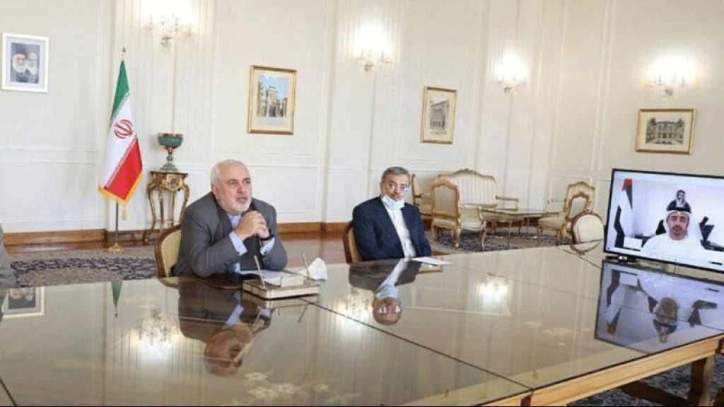 Zarif: En tant que voisins, l'Iran et les EAU doivent réfléchir à la stabilité régionale