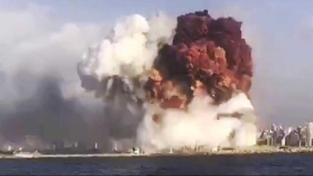 Explosion au Liban: «Israël» inquiet du danger des produits chimiques stockés au port de Haïfa