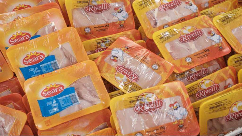 Chine : le virus découvert sur du poulet brésilien et des produits en provenance d'Equateur