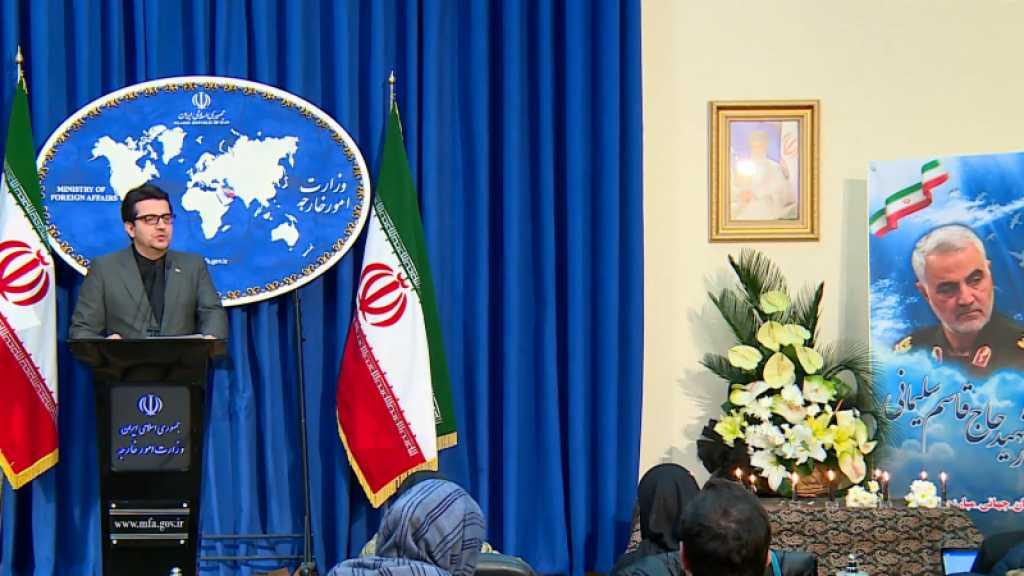 Embargo sur les armes: Washington n'a «jamais été si isolé», affirme Téhéran