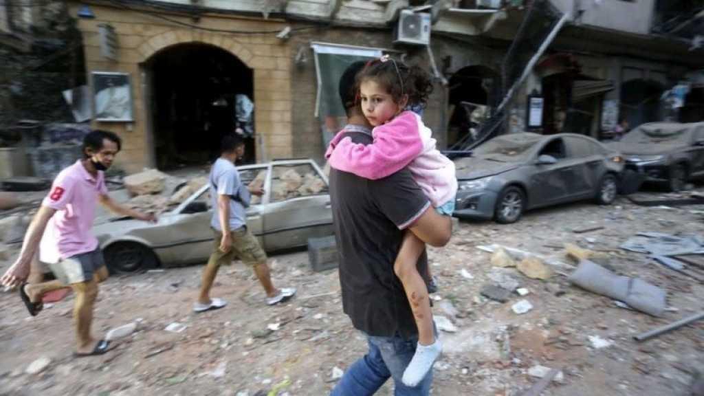 Explosions de Beyrouth: des milliers d'enfants et environ 120 écoles touchés, selon l'Unicef