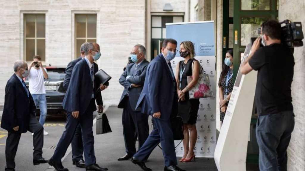 Syrie: reprise des discussions sur la constitution à Genève