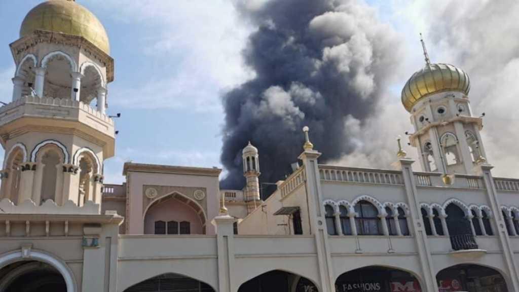 Afrique du Sud: une mosquée historique de Durban en proie à un incendie