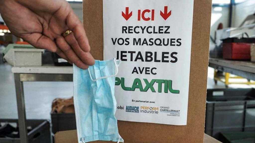 Une entreprise de la Vienne recycle les masques jetables pour en faire des visières ou des ouvre-portes