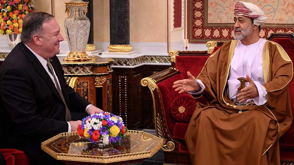 Normalisation: Pompeo conclut à Oman une tournée au Moyen-Orient