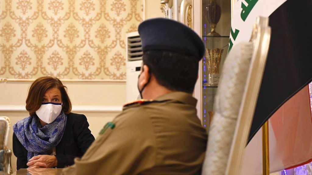 En Irak, la ministre française des Armées plaide pour renforcer la «surveillance anti-Daech»