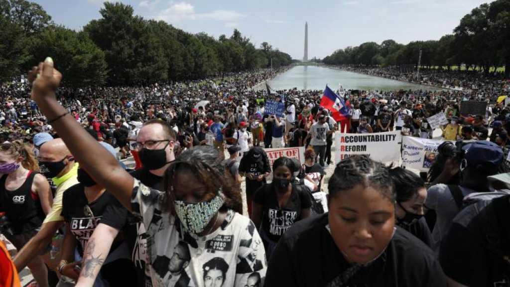 USA: à Washington, des dizaines de milliers de manifestants antiracistes appellent à l'égalité