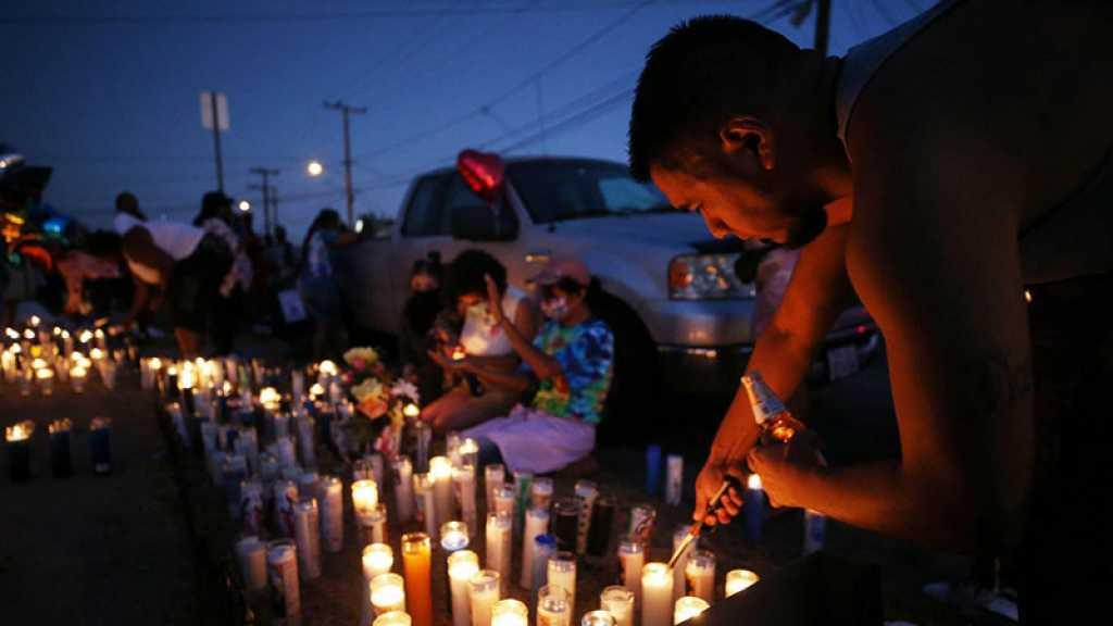 Manifestation à Los Angeles après la mort d'un homme noir tué par la police