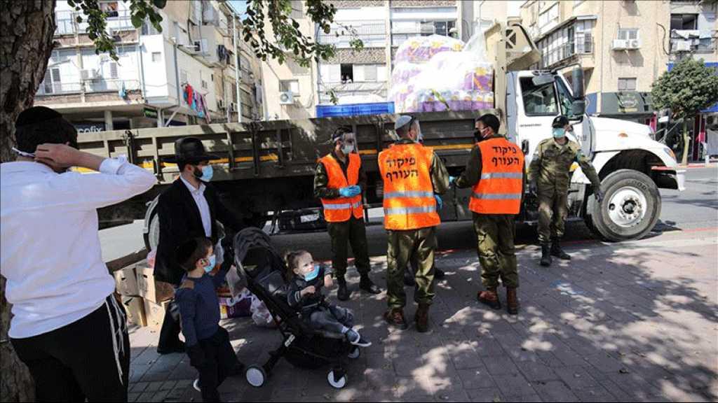 Entité israélienne: 3.506 nouveaux cas de coronavirus en 24h