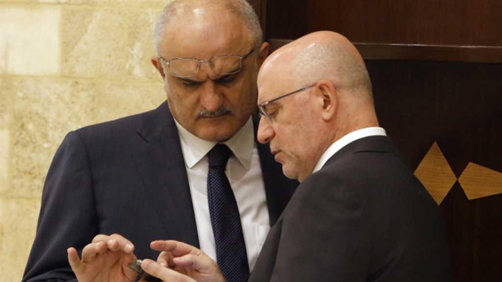 Le Hezbollah félicite les deux ex-ministres sanctionnés par le Trésor US