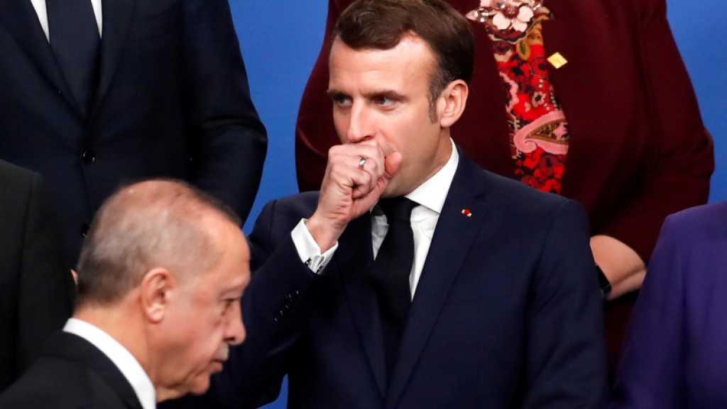 Méditerranée: Macron appelle l'UE à faire front commun face à la Turquie