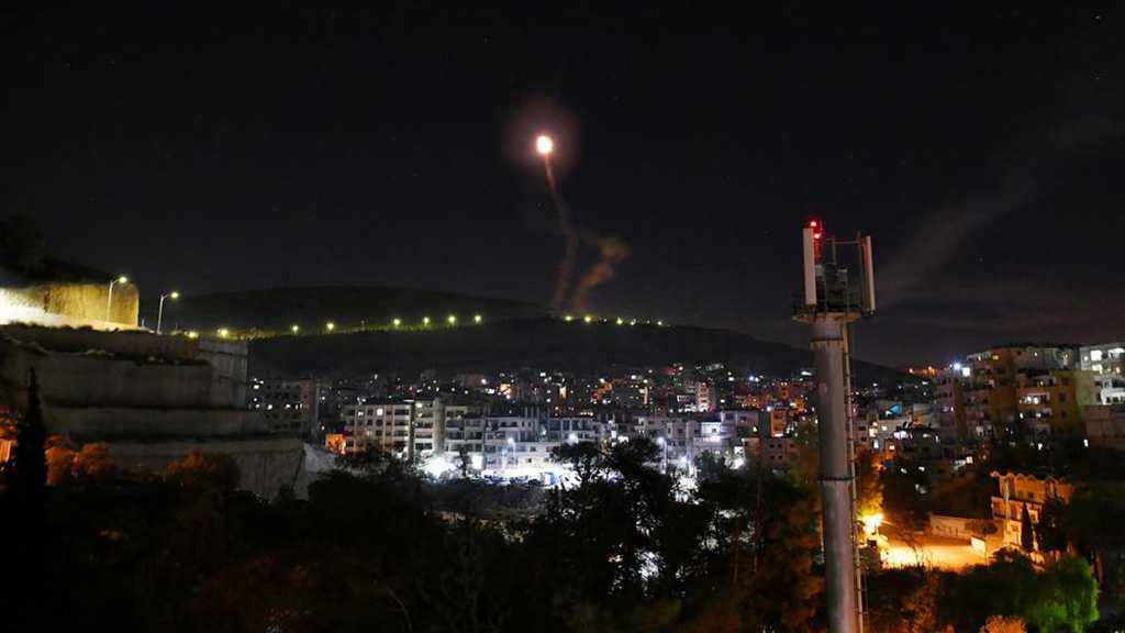 Syrie: La défense antiaérienne activée contre une agression israélienne