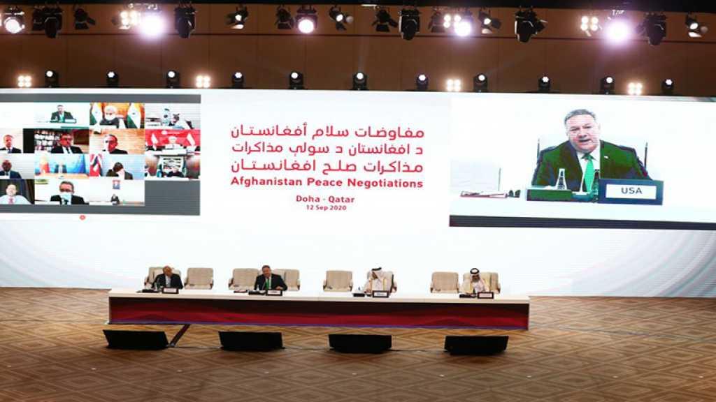 Afghanistan: des pourparlers de paix inédits s'ouvrent à Doha