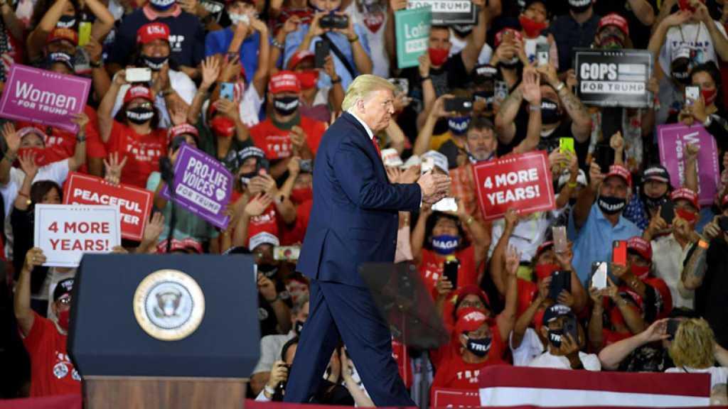 États-Unis: un meeting en salle de Trump indigne les autorités locales