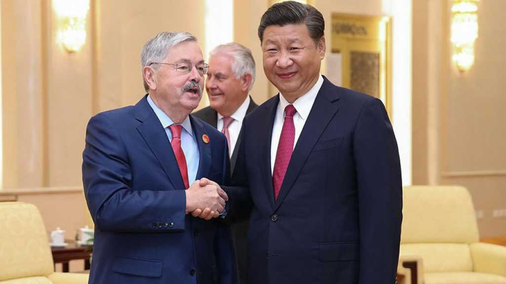 Démission de l'ambassadeur américain en Chine