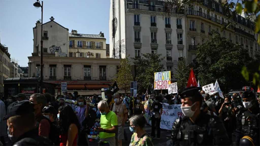 Plusieurs milliers de manifestants à Paris contre les suppressions d'emploi