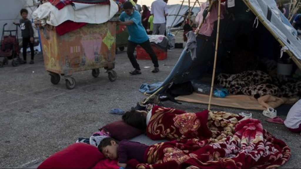 Lesbos: 6.000 réfugiés dans le nouveau camp, 157 personnes positives au coronavirus