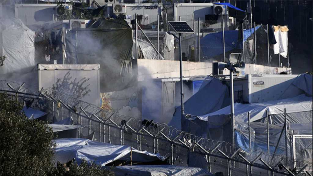 Grèce: un incendie dans le camp de migrants sur l'île de Samos «sous contrôle»
