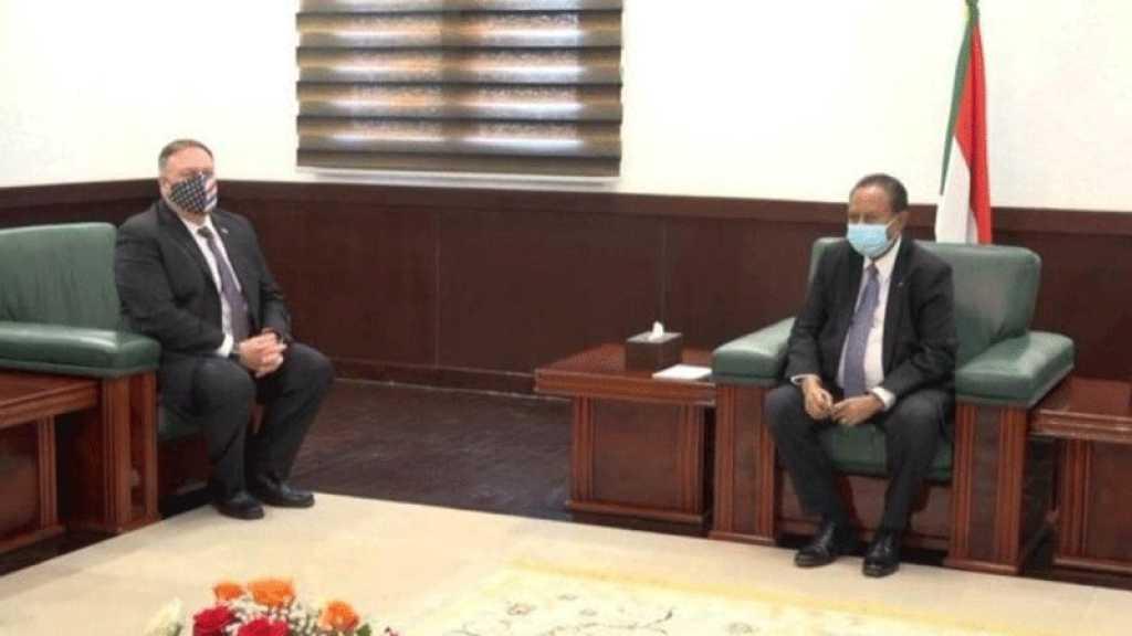 Réunion à Abou Dhabi en vue d'une normalisation des relations entre «Israël» et le Soudan