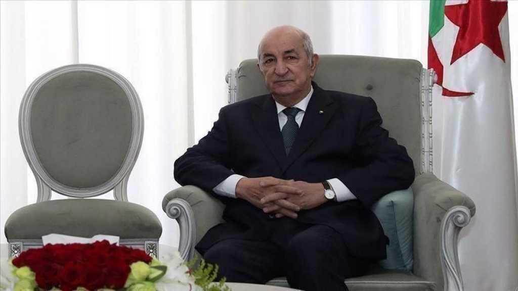 L'Algérie dit «non» à la normalisation avec «Israël»