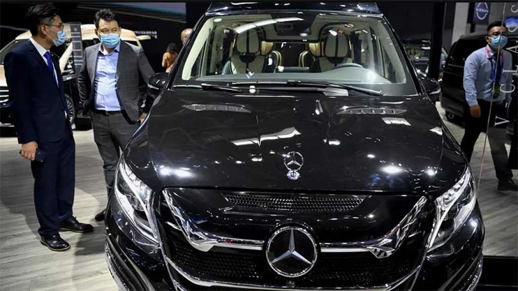 Chine: salon de l'auto, premier événement international post-pandémie