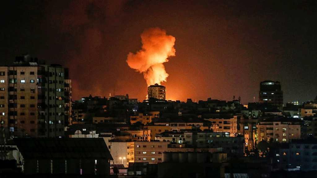 L'armée de l'occupation frappe Gaza en riposte au tir de roquette vers «Israël»