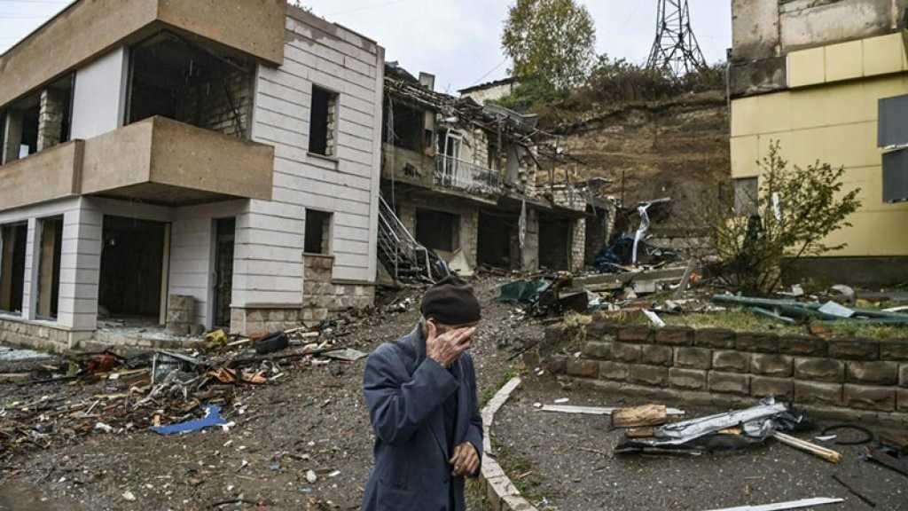 La moitié de la population du Karabakh déplacée par les combats avec l'Azerbaïdjan