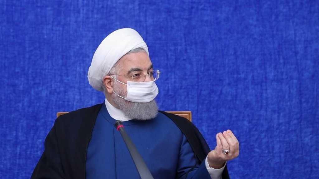 Rohani: les sanctions américaines «inhumaines» ne feront pas plier l'Iran