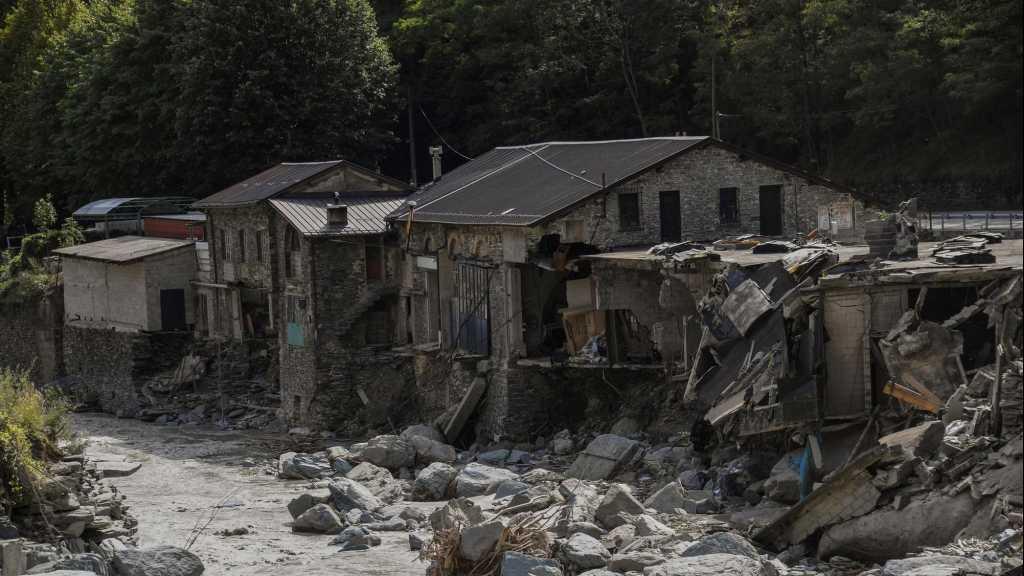 Après les crues, le début d'une «difficile» reconstruction dans les Alpes-Maritimes