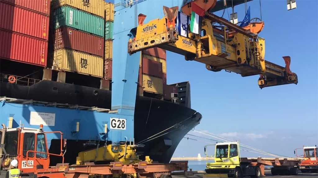 Normalisation: un navire transportant une cargaison émiratie accoste au port de «Haïfa», une première