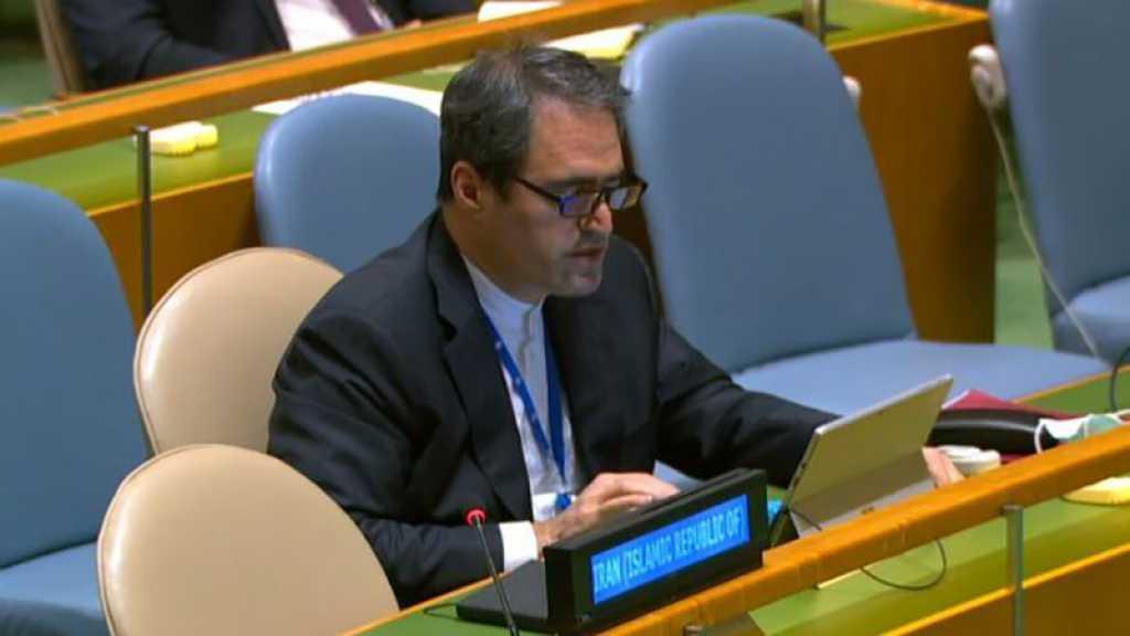 Représentant de l'Iran au comité du désarmement de l'ONU: les missiles iraniens sont un moyen de dissuasion