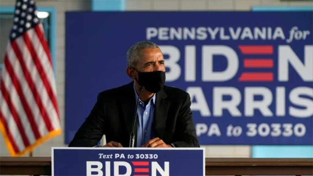 Présidentielle US: Obama lance un appel à la mobilisation pour Biden