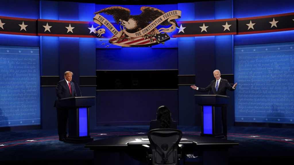 Etats-Unis: Débat Trump/Biden, un dernier round maîtrisé sans K.O. final