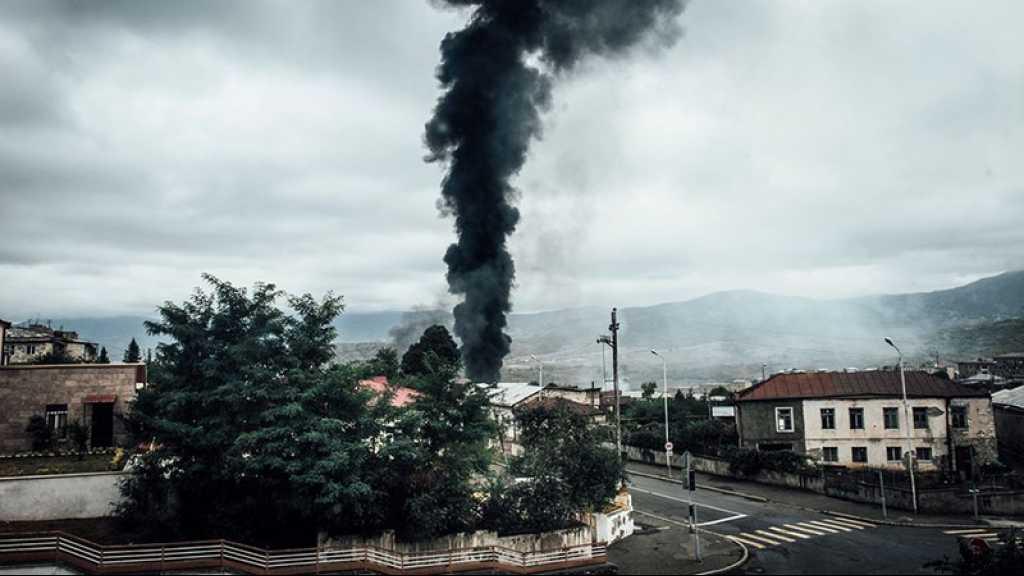 Haut-Karabakh: la capitale touchée par une attaque massive de missiles